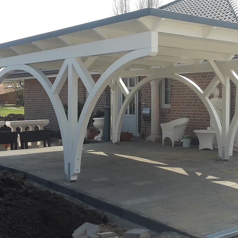 Carport Holzart: Rundbogen